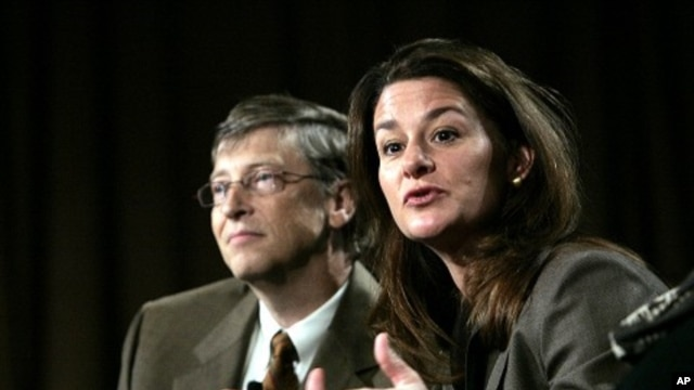Bill and Melinda Gates (2011 file photo)