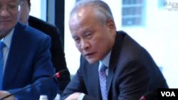 추이톈카이 미국 주재 중국 대사.