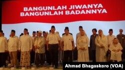 Peringatan Haul Gus Dur ke-9 di Kediaman Gus Dur, 21 Desember 2018. (Foto: VOA/Ahmad Bhagaskoro).