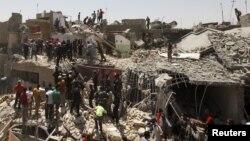U nesreći u istočnom delu Bagdada straalo najmanje sedam osoba