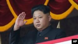 Pemimpin Korea Utara Kim Jong Un termasuk dalam daftar sanksi Amerika atas pelanggaran HAM (foto; dok).