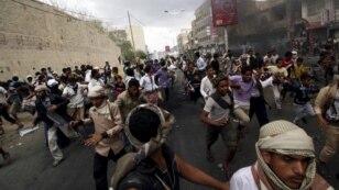 یمن میں حوثی باغیوں کے خلاف سعودی عرب کی کارروائی