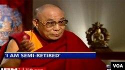 Dalai Lama sudah berada dalam keadaan setengah pensiun sejak tahun 2001.