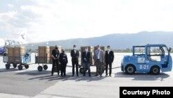 Respiratori nakon dostavljanja u Sarajevu. Izvor: Vlada Federacije