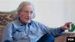 Ноам Чомскі, один із найавторитетніших інтелектуалів у світі
