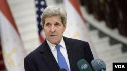 جان کری: با وجود خروج نیروهای امریکایی از افغانستان، واشنگتن در قبال امنیت آسیای میانه، متعهد باقی خواهد ماند
