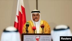 Wezîrê Derve yê Bahreynê daxuyanîyê dixwîne