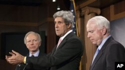 لیبیا میں فوجی کارروائی محدود کرنے سے متعلق امریکی سینیٹ میں قرارداد