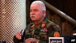 Juru bicara Kementerian Pertahanan Afghanistan, Jenderal Dawlat Waziri (foto: dok).