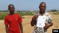 Angola family of person arrested for illegal housing - Helson Hossi father of José Mambuco Kuenha e brother Paulo Abreu