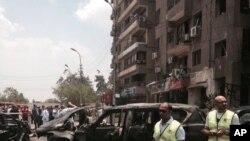 Portlashdan so'ng, Misr, Qohira, 29-iyun, 2015-yil