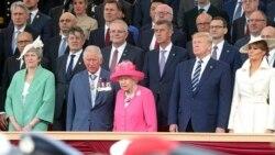 D-Day ကမ္းတက္တိုက္ပြဲ ၇၅ ႏွစ္ျပည့္ သမၼတ Trump တက္ေရာက္