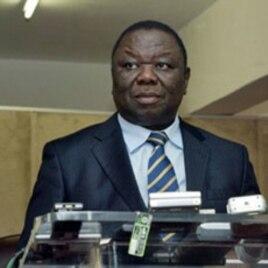 Zimbabwe's PM Morgan Tsvangirai at a press conference in Harare (File)