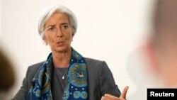 Bà Christine Lagarde - Giám đốc điều hành Quỹ Tiền tệ Quốc tế (IMF).