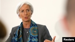 Direktur IMF Christine Lagarde (foto: dok).