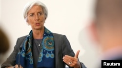 IMF Managing Director Christine Lagarde dispatched a team to Zimbabwe for a Staff Monitored Program.