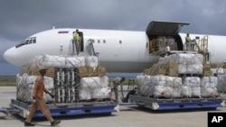 聯合國不斷將物資送到非洲之角地區