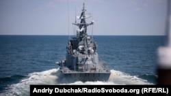 Тактичну групу очолює ракетний катер ВМС ЗСУ «Прилуки»