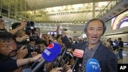 El viernes, Hong Kong permitió que el escritor disidente Ma Jian participara para asistir a un festival literario, incluso después de que un lugar de arte en la ciudad cancelara su aparición.