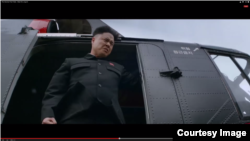"An actor portrays Kim Jong Un character in Sony Pictures' movie ""The Interview."""
