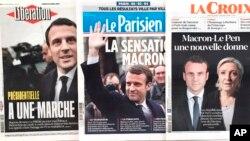 Los sondeos que apuntan a una holgada victoria final de Macron calmaron la inquietud de los inversores, nerviosos ante las promesas de Le Pen de abandonar el euro y probablemente salir de la UE.