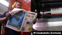 El Carabobeño se publica en Valencia, capital del estado venezolano de Carabobo, desde hace más de ochenta años.