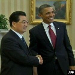 Kineski i američki predsednik tokom susreta u Beloj kući