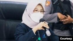 Kepala Balai Besar POM DI Yogyakarta, Dewi Prawitasari. (Foto: Humas Polres Bantul)