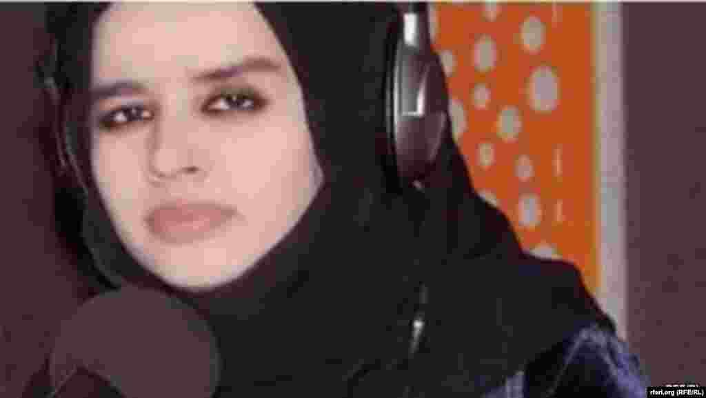 فرشته محرم درانی، خبرنگار رادیو آزادی