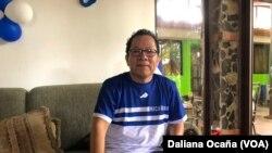 Miguel Mora, director del canal de televisión 100% Noticias, en Managua, Nicaragua tiene fe de que le devolverán su medio de comunicación.