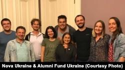 Зустріч Надії Варголи, президентки Alumni Fund Ukraine, з активними українцями в Сан-Франциско, серпень 2017 р.