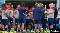 """""""Venimos con el mismo esfuerzo la misma unidad, la misma energía y la ambición para hacerlo bien"""", dijo Klinsmann. """"Es por eso que hemos trabajado más de cuatro semanas en nuestra preparación""""."""