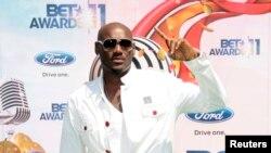 Le chanteur nigérian 2Face lors d'une cérémonie à Los Angeles, le 26 juin 2011.