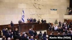 سخنرانی مایک پنس معاون ریاست جمهوری آمریکا در پارلمان اسرائیل