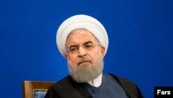 صدر حسن روحانی نے پیر کو تہران میں پریس کانفرنس کی۔