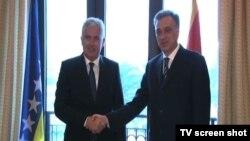 Predsedavajući Predsedništva BiH Dragan Čović i predsednik Crne Gore Filip Vujanović