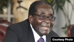 President Robert Mugabe said the initial court ruling was racist. (File Photo)