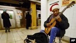 [구석구석 미국이야기] 뉴욕 지하철역의 예술가들