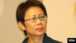 香港環境局副局長陸恭蕙(Photo: 美國之音宋德成)