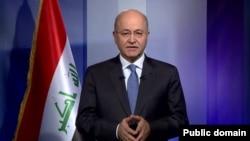 برهم صالح رئیس جمهوری عراق.