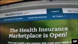 Trang Web healthcare.gov