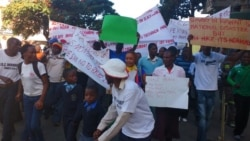 ZimPlus: Unpaid NRZ Workers Protest; Water Runs Dry in Harare; And Mugabe Faces Protesters, Friday, May 20, 2016