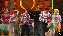 Audicija za profesionalne klovnove u cirkusu Ringling Brothers.