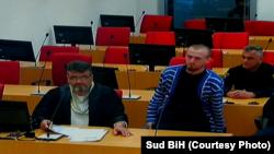 Ibro Ćufurović u sudnici Suda BiH