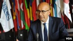 Представитель ОБСЕ по вопросам свободы СМИ Арлем Дезир. Архивное фото.