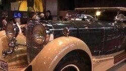 Extravagant Period Cars Exhibited in Paris