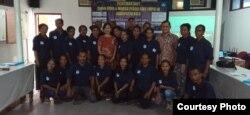 Pelatihan ODHA dan warga peduli Aids di Belu, NTT oleh CD Bethesda. (Foto: dok CD Bethesda)