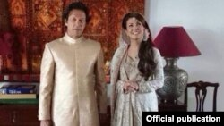 Politisi Pakistan Imran Khan menikahi Reham Khan, mantan reporter BBC (foto: dok).