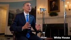 奥巴马在星期六的每周例行讲话中