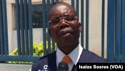 Lindo Ngola, porta-voz do SIC, confirma incidente